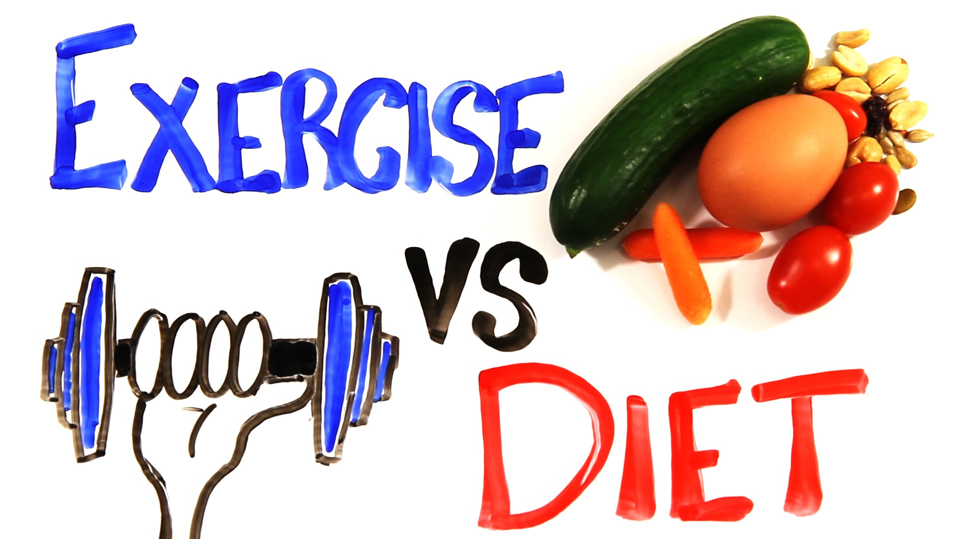 is weight loss diet or exercise